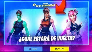 THE SKINS VOTING SYSTEM ARRIVES TO THE FORTNITE STORE!!