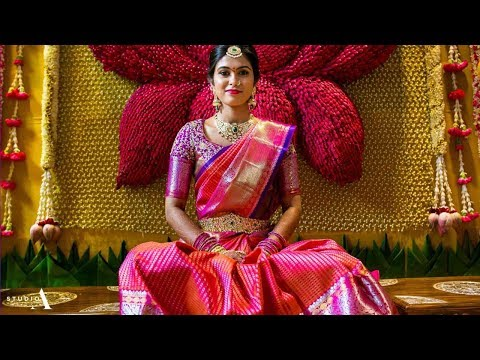 Gorgeous South Indian Bridal Saree Designs For 2018