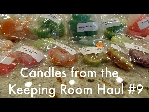 Candles from the Keeping Room Haul #9