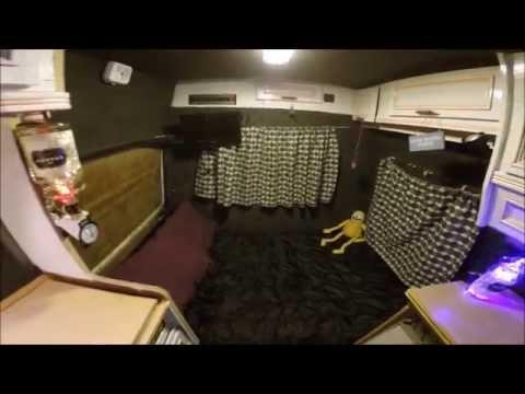 Van Tour Eco My Iveco Camper Van Interior Stealth Van Off