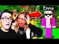 HACKING MY GIRLFRIENDS MINECRAFT ACCOUNT! 😈 **SHE WENT CRAZY**