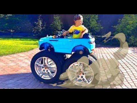 Сеня поставил Огромные колеса на свою Машинку. История о Сломанном Колесе