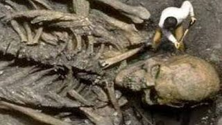 SCIENTISTS DISCOVER GIANT SKELETON - real or fake? thumbnail