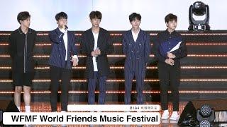 B1A4 비원에이포[4K 직캠]WFMF FULL VIDEO@20160911 Rock Music