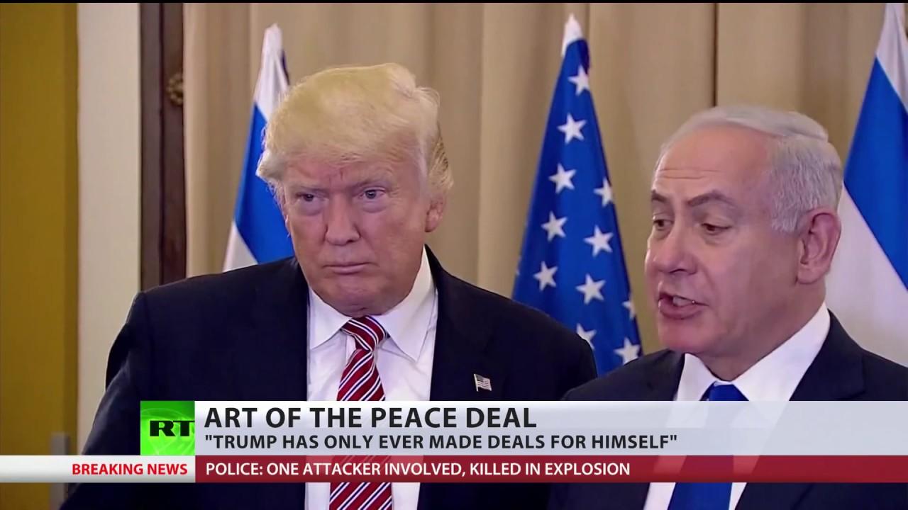 Toughest deal of all? Trump eyes brokering peace between Palestine & Israel