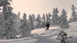 八甲田山 山岳スキーツアー