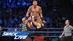 Heath Slater & Rhyno vs. The Headbangers – SmackDown Tag Team Titel Turnier: SmackDown Live, 30. Aug