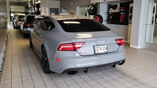 How Much Did My First Audi RS7 Service Cost?