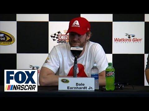 Dale Earnhardt Jr. Gives Update at Watkins Glen