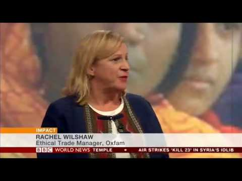 BBC World News 2016: Oxfam's report on Women's work in Asia