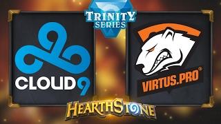 Hearthstone - Cloud9 vs. Virtus.Pro - Hearthstone Trinity Series - Day 10