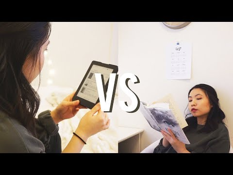 EBOOKS VS PHYSICAL BOOKS | Which One Is Better?!