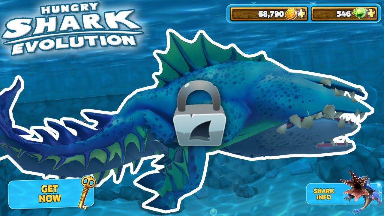 NEW ABYSSHARK UNLOCKED!!! - Hungry Shark Evolution | HD