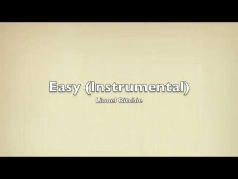 Easy  Lionel Ritchie Instrumental