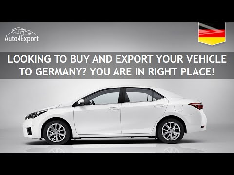 Shipping cars from USA to Germany - Auto4Export
