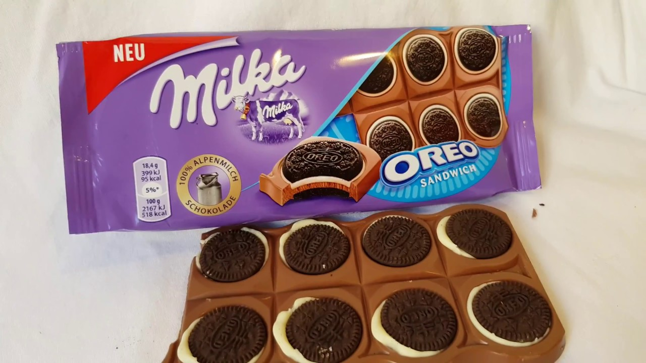 Oreo Milka Schokolade