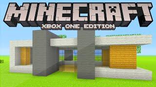 Minecraft Modern House Tutorial (Xbox/Playstation/PE/PC/Wii U)