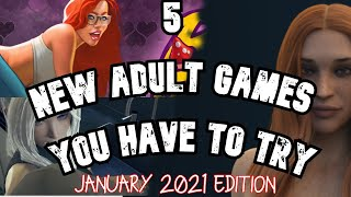 5 New Adult Games 2021 - January edition | 5 adult games you have to try