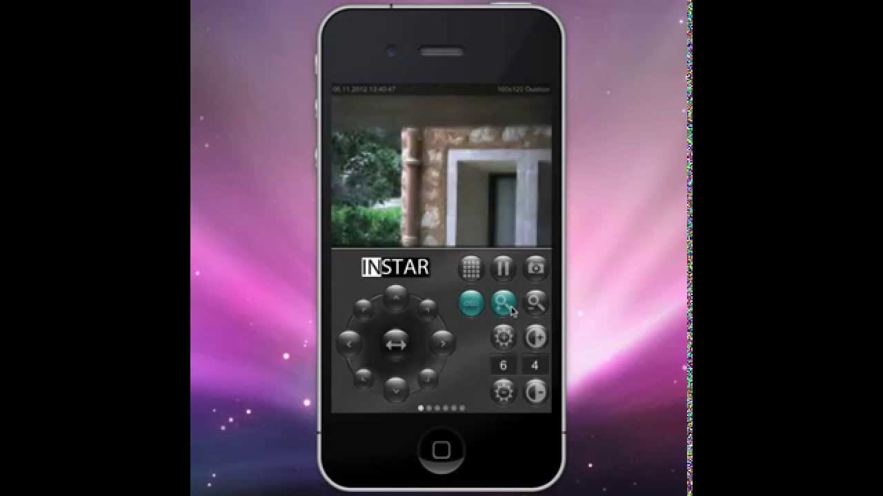 ipcam fc iphone app steuerung einer instar in 4010 ip kamera auf einer mittelmeerinsel youtube. Black Bedroom Furniture Sets. Home Design Ideas