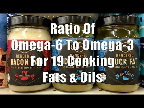 Cooking Fats and Oils Ratio of Omega-6 to Omega-3 Fatty Acids (Home Cooking 101) DiTuro Productions