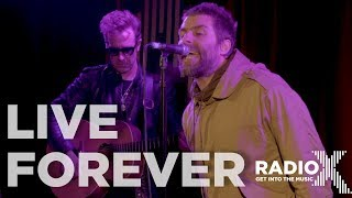 Liam Gallagher performs Live Forever LIVE from the Radio X roof (Radio X session)