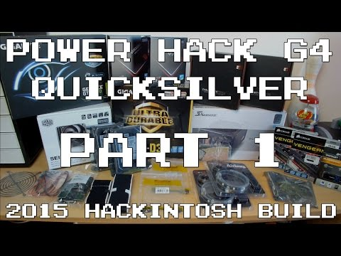 2015 Hackintosh Build: Part 1 (Parts Overview, Test Bench Build & First Boot) | IMNC
