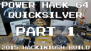 Power Hack G4 Quicksilver Build: Part 1 (parts Overview, Test Bench Build & First Boot) | Imnc