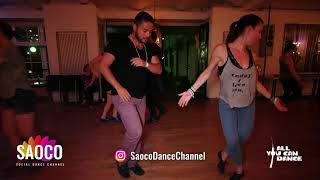 Aleksandra Dubanowicz and Hisch Mambo Salsa Dancing at Berlin Salsa Marathon 2018, Fri 17.08.2018