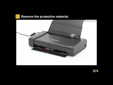 pixma-ip110:-setting-up-the-printer