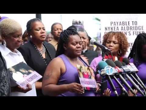 Families hold prayer vigil for shooting victim Nykea Aldridge