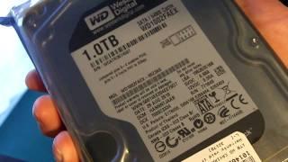 Western Digital 1TB Black Sata 3 6GBPS Hard Drive Unboxing