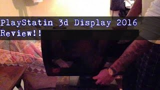 SONY PlayStation® 3D Display 2016 Unboxing & Review pt1