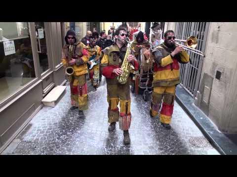 La Fanfare des Goulamas'k - Carnaval Centre Ville de Béziers