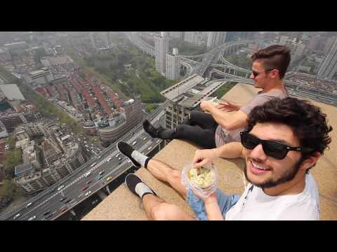 Shanghai Rooftops: Traveling for 20 Dollars a Day - Ep 21