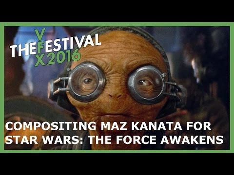Creating Maz Kanata for Star Wars: The Force Awakens