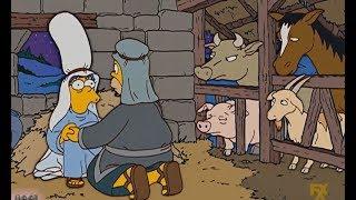 The Simpson- Homer Midwifery Marge  InPigpen!