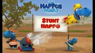 THE HAPPOS FAMILY - STUNT HAPPO GAME WALKTHROUGH