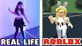 Roblox Dances In Real Life!
