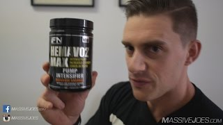 iForce HemaVO2 MAX Nitric Oxide Booster Supplement Review - MassiveJoes.com RAW Review Hema VO2 V02