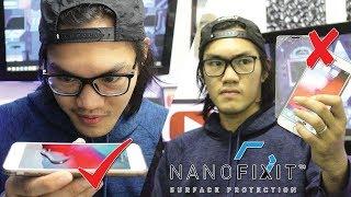 LIQUID SCREEN PROTECTOR?! | One Size Fits All | NANOFIXIT