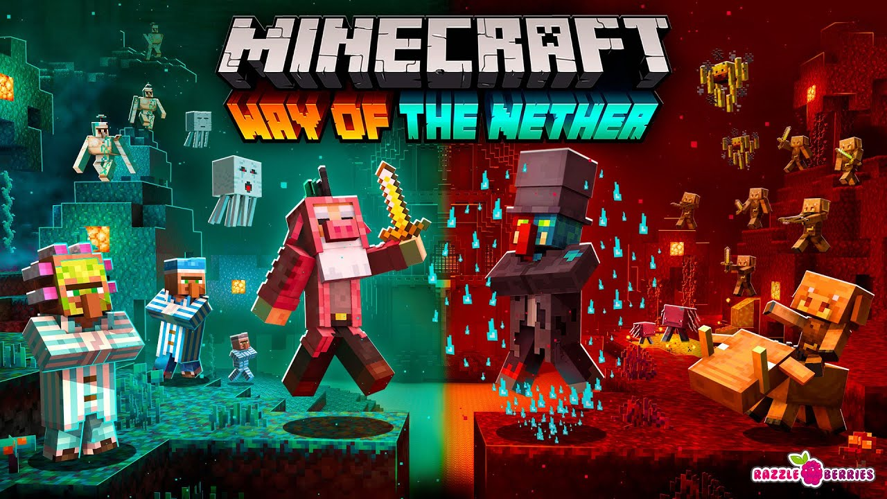 Way Of The Nether In Minecraft Marketplace Minecraft Placing down a water source block in the nether should be possible, but only when the source is in direct contact with blue ice. nether in minecraft marketplace