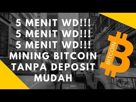 5 Menit Langsung Bisa Withdraw!!! Mining Bitcoin Tanpa Deposit Mudah