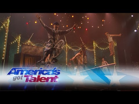 Circus 1903 Brings Their Astonishing Act To The AGT Stage - America's Got Talent 2017