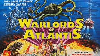 WARLORDS OF ATLANTIS stereo radio advert London 1978