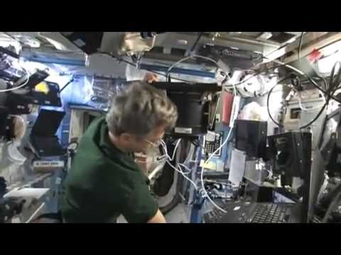 Which end is up? - Science on the International Space Station