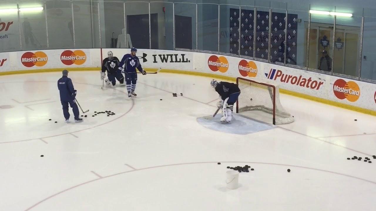 Antoine Bibeau called up to Leafs