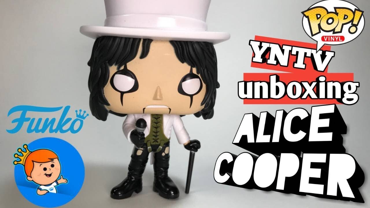 Alice Cooper Schools Out Top Hat Funko Pop Unboxing Yntv Youtube