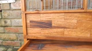 Wooden Bird Cage 4