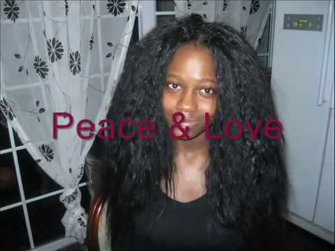 Afro Natural Hair Soft N Silky Using Crochet Needle