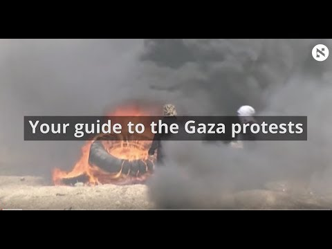 Your guide to the Gaza protests